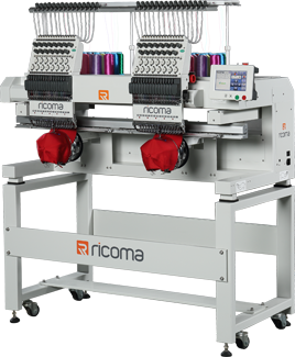 Ricoma Twohead-Embroidery machine MT-1502